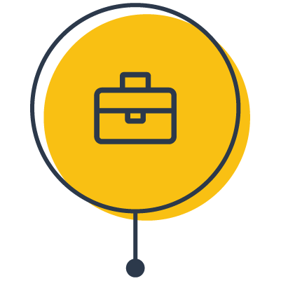 business brief case icon